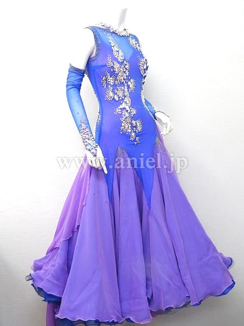 57a1efc4a6184 社交ダンスドレス(衣装)のドレスネットアニエル   M5766・ Chrisanne ...